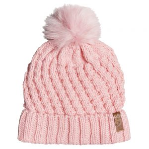 ROXY Girls' Blizzard Girl Beanie, Powder Pink
