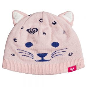 ROXY Girls' Leo Girl Beanie, Powder Pink