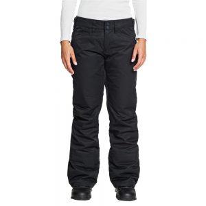 ROXY Women's Backyard Insulated Snow Pants, True Black