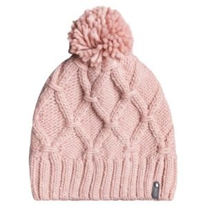 ROXY Women's Winter Beanie, Silver Pink