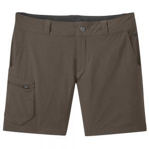 OUTDOOR RESEARCH Women's Ferrosi 7 Shorts, Mushroom