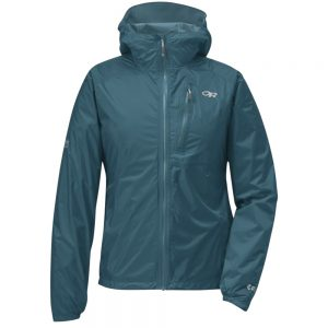 OUTDOOR RESEARCH Women's Helium II Rain Jacket, Washed Peacock