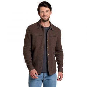 TOAD & CO. Men's Kennicott Shirt Jacket, Falcon Brown