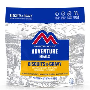 MOUNTAIN HOUSE Biscuits and Gravy Freeze-Dried Meal