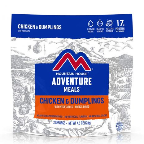 MOUNTAIN HOUSE Chicken and Dumplings with Vegetables Freeze-Dried Meal