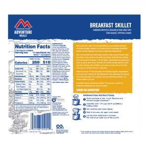 MOUNTAIN HOUSE Breakfast Skillet Freeze-Dried Meal