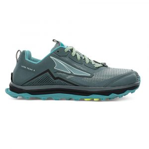 Altra Women's Lone Peak 5 Trail Running Shoe Side Balsam Green