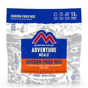 MOUNTAIN HOUSE Chicken Fried Rice with Vegetables Freeze-Dried Meal