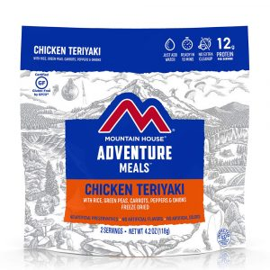 MOUNTAIN HOUSE Chicken Teriyaki with Rice and Vegetables Freeze-Dried Meal
