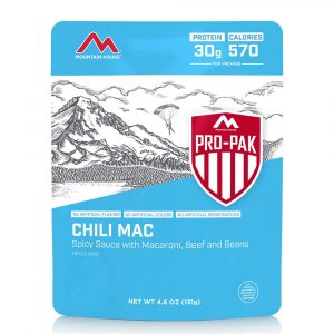 MOUNTAIN HOUSE Chili Mac with Beef Pro-Pak Freeze-Dried Meal