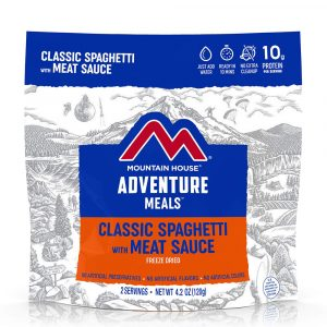 MOUNTAIN HOUSE Classic Spaghetti with Meat Sauce Freeze-Dried Meal