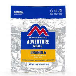 MOUNTAIN HOUSE Granola with Milk and Blueberries Freeze-Dried Meal