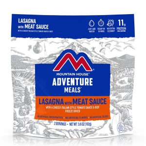 MOUNTAIN HOUSE Lasagna with Meat Sauce Freeze-Dried Meal