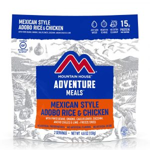 MOUNTAIN HOUSE Mexican Style Adobo Rice and Chicken Freeze-Dried Meal