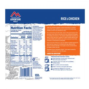 MOUNTAIN HOUSE Rice and Chicken Freeze-Dried Meal