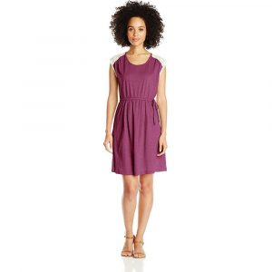 PRANA Women's Angelina Dress, Fuchsia