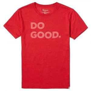 COTOPAXI Women's Do Good T-Shirt, Racing Red