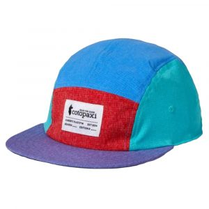 COTOPAXI Adventure Tech 5-Panel Hat, Racing Red Lavender