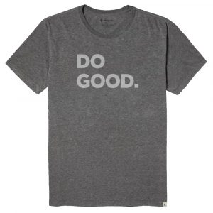 COTOPAXI Men's Do Good T-Shirt, Heather Gray