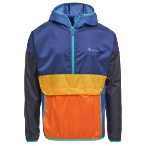 COTOPAXI Men's Teca Half-Zip Windbreaker, Moon Walk