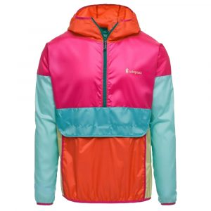 COTOPAXI Women's Teca Half-Zip Windbreaker, La Playa