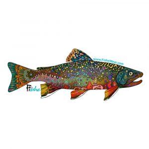 FISHE Brookie Sticker