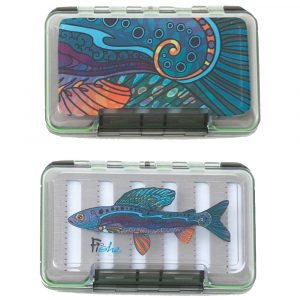 FISHE Poly Fly Box, Groovy Grayling