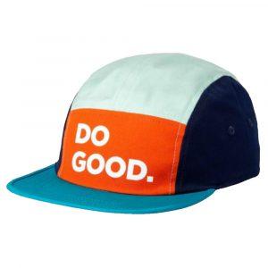 COTOPAXI Do Good 5-Panel Hat, Papaya Lagoon