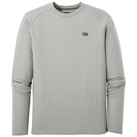 OUTDOOR RESEARCH Men's Echo Long-Sleeved Shirt, Pebble