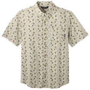 OUTDOOR RESEARCH Men's Janu Short-Sleeved Shirt, Sand