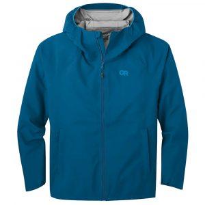 OUTDOOR RESEARCH Men's Motive AscentShell Rain Jacket, Cascade
