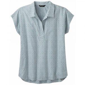 OUTDOOR RESEARCH Women's Sanjay Short-Sleeved Shirt, Titanium