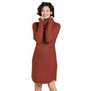 TOAD & CO. Women's Chelsea Turtleneck Dress, Paprika