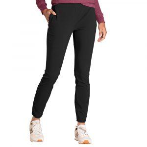 TOAD & CO. Women's Rover Moto Crop Pants, Black