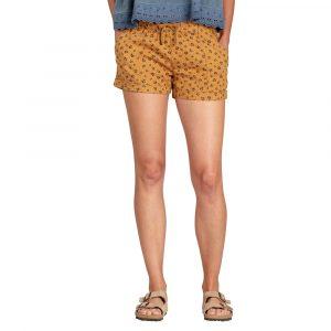 TOAD & CO. Women's Taj Hemp Shorts, Palomino Dogwood Print